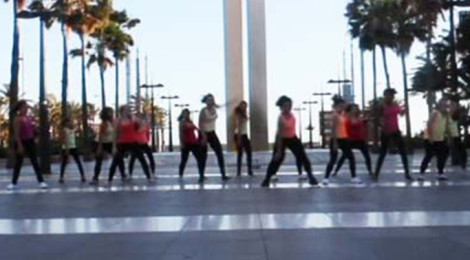 """Move"" y ""Cant Hold Us"", Funky & Street Dance."